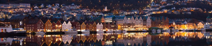 Bryggen in Bergen – the German Wharf (modified)